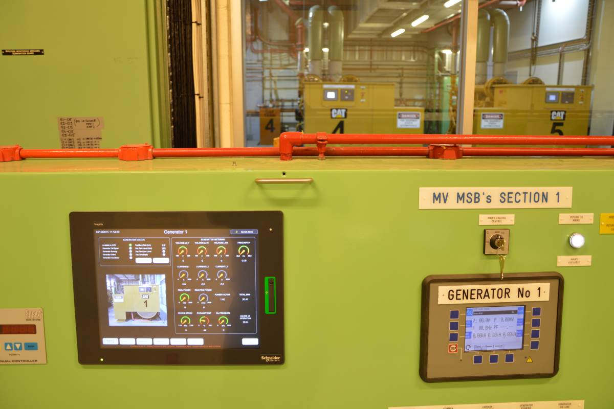 Generator Master Control Panels