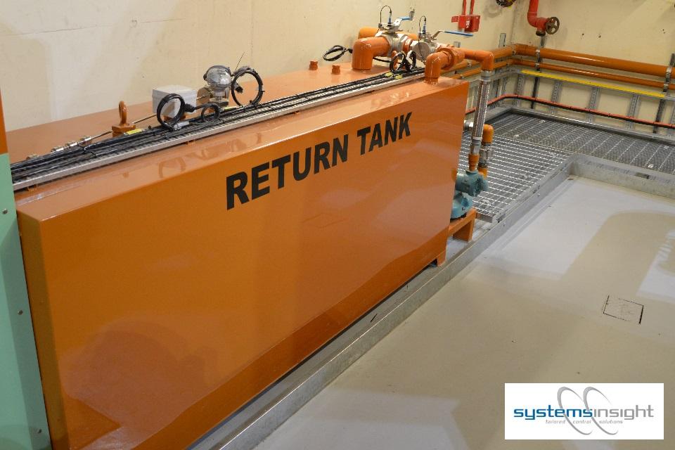 Generator Diesel Return Tank